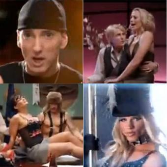 los videos musicales de eminem: