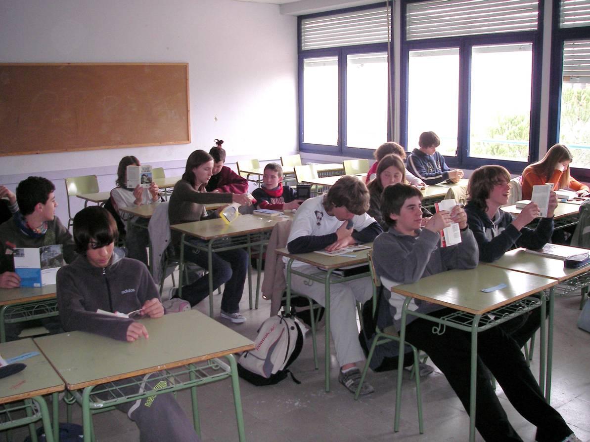 Los madrileños, a la cabeza de la ESO española