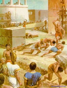 esclavos 230x300 NUEVA INFORMACIÓN SOBRE LAS PIRÁMIDES DE EGIPTO