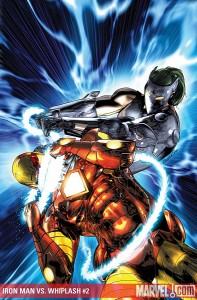 62 iron man vs  whiplash 2 197x300 SUPERHÉROES MARVEL VS. SUPERHÉROES DC: ¿QUIÉN GANARÍA CONTRA QUIÉN?