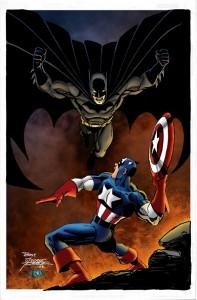 65342 batman vs captain america 197x300 SUPERHÉROES MARVEL VS. SUPERHÉROES DC: ¿QUIÉN GANARÍA CONTRA QUIÉN?