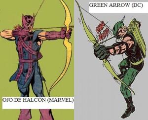 hawkeye 300x243 SUPERHÉROES MARVEL VS. SUPERHÉROES DC: ¿QUIÉN GANARÍA CONTRA QUIÉN?