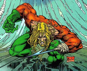 aquamanpeter david 300x247 AQUAMAN: EL SUPERHEROE SIN SITIO EN DC