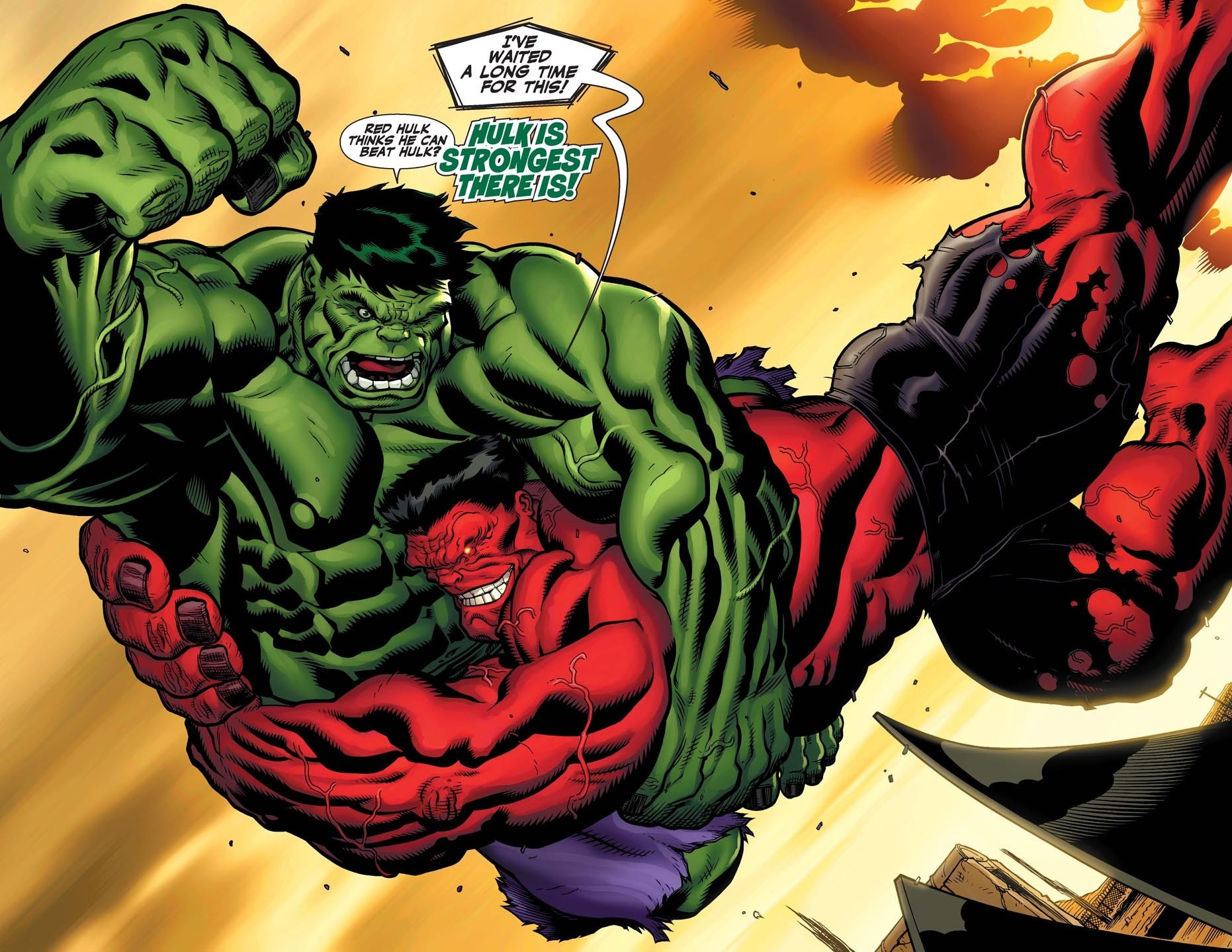 Hulk vs red hulk marvel comics 8625074 1862 1439