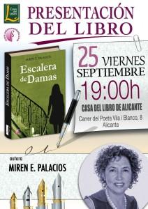 Presentaci n del libro escalera de damas en alicante y - Casa del libro valencia horario ...