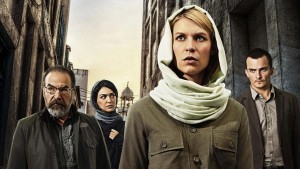 "From left, Mandy Patinkin, Nazanin Boniadi, Claire Danes and Rupert Friend costar in Showtime's ""Homeland,"" returning for its fourth season on Sunday. (Jim Fiscus/Showtime/MCT) ** OUTS - ELSENT, FPG, TCN - OUTS **"