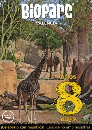 BIOPARC Valencia - 8 años - Celébralo con nosotros - WEB