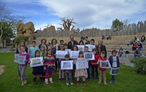 Entrega de premios V Concurso dibujo infantil de LEVANTE-EMV y BIOPARC Valencia