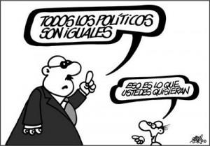 politicos-iguales